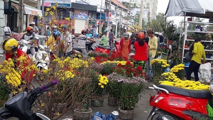Người bán hoa kiểng ở miền Tây thà chở về chứ không bán rẻ như cho - Ảnh 4.