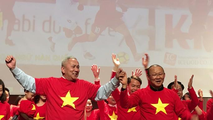 Tết vui nhất của nhà ngoại giao thể thao Park Hang Seo - Ảnh 1.
