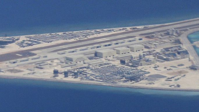 Mỹ tố Trung Quốc xây 7 căn cứ quân sự ở biển Đông - Ảnh 1.