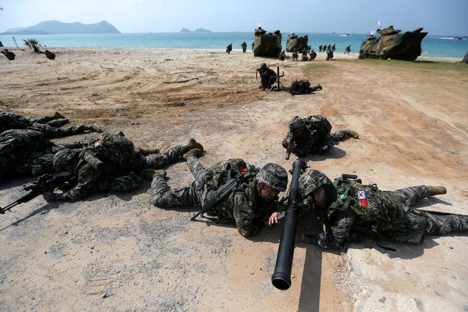Cận cảnh Mỹ và 28 nước châu Á tập trận Hổ mang vàng - Ảnh 2.