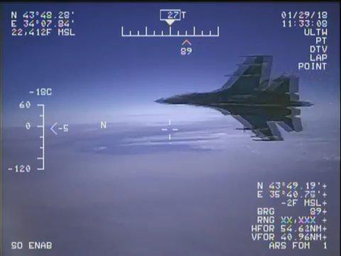 Bộ Quốc phòng Nga chỉnh Hải quân Mỹ - Ảnh 1.