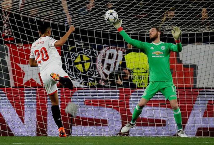 Người nhện De Gea tỏa sáng, Man United lấy điểm trước Sevilla - Ảnh 6.