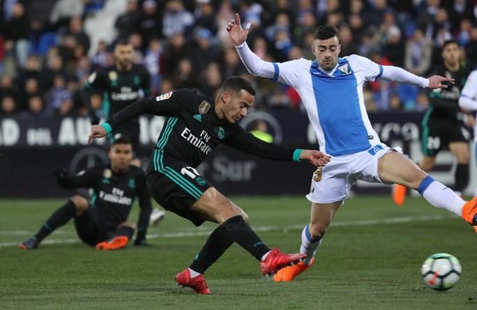 Ngược dòng hạ Leganes, Real chiếm vị trí thứ 3 La Liga - Ảnh 2.