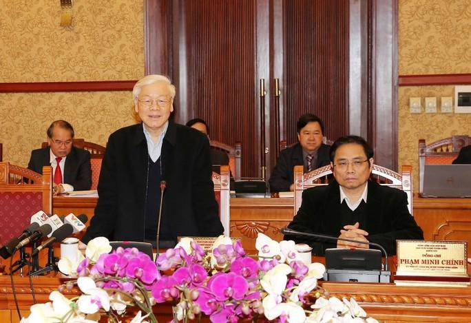 Tổng Bí thư chủ trì cuộc họp đầu tiên trong năm Mậu Tuất của Ban Bí thư - Ảnh 1.