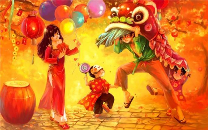 Triển lãm tranh về mùa Xuân - Ảnh 1.