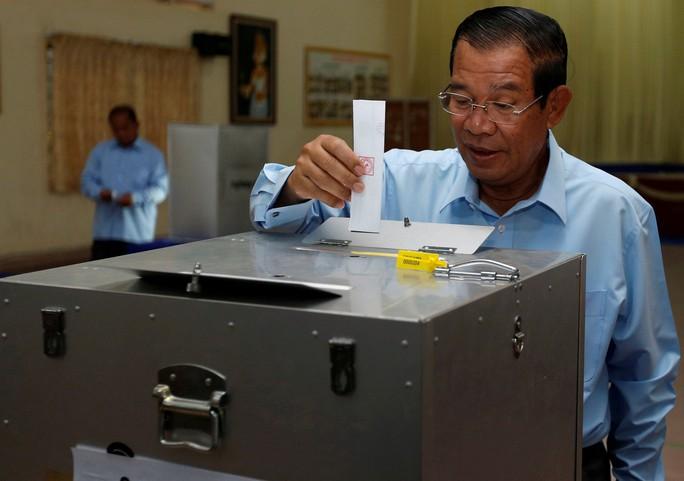 Campuchia bầu cử thượng viện - Ảnh 1.