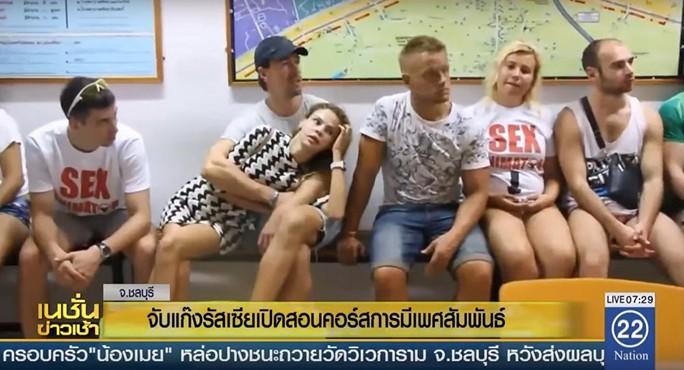 Thái Lan bắt 10 người Nga mở lớp dạy sex - Ảnh 1.