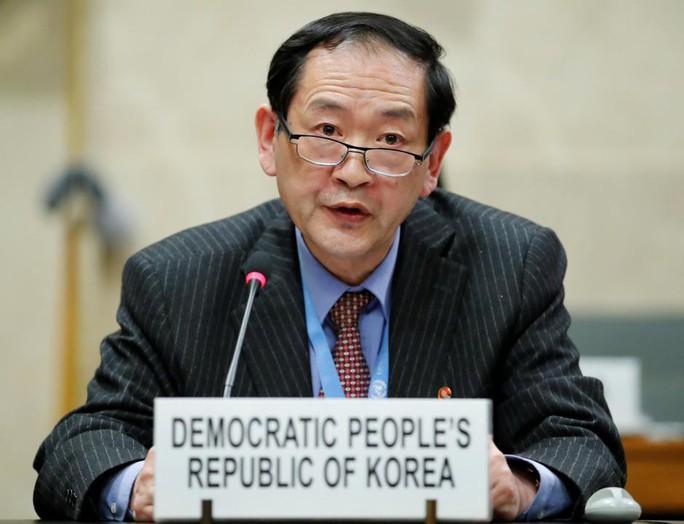 Triều Tiên yêu cầu Mỹ bỏ vũ khí hạt nhân trước - Ảnh 1.