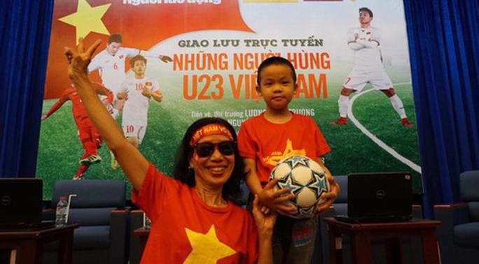 Giao lưu U23 Việt Nam: Xuân Trường bị CĐV đặt câu hỏi khó - Ảnh 3.
