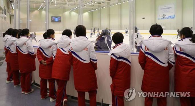 Người lạ không ai biết trong phái đoàn Triều Tiên tại Hàn Quốc - Ảnh 1.