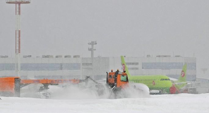 Moscow hứng chịu lượng tuyết rơi trăm năm mới có một lần - Ảnh 3.
