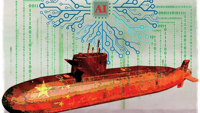 Trung Quốc cải tạo não tàu ngầm - Ảnh 1.