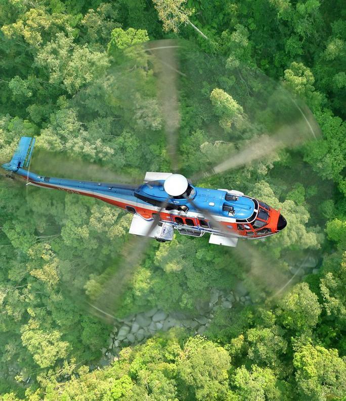 Xin tạm nhập máy bay trực thăng để đại tu rồi tái xuất - Ảnh 1.