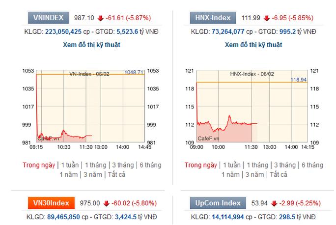 Hai ngày rực lửa, chứng khoán Việt mất 14 tỉ USD - Ảnh 2.
