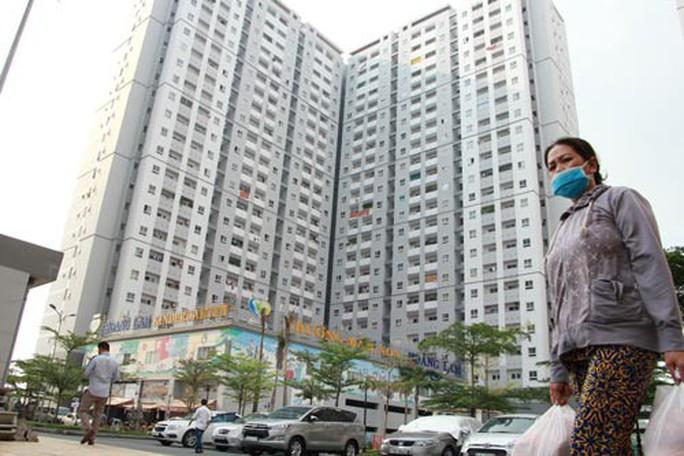 Hàng ngàn hộ chung cư khổ sở - Ảnh 1.