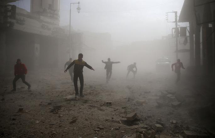 Syria giao tranh hỗn loạn - Ảnh 1.