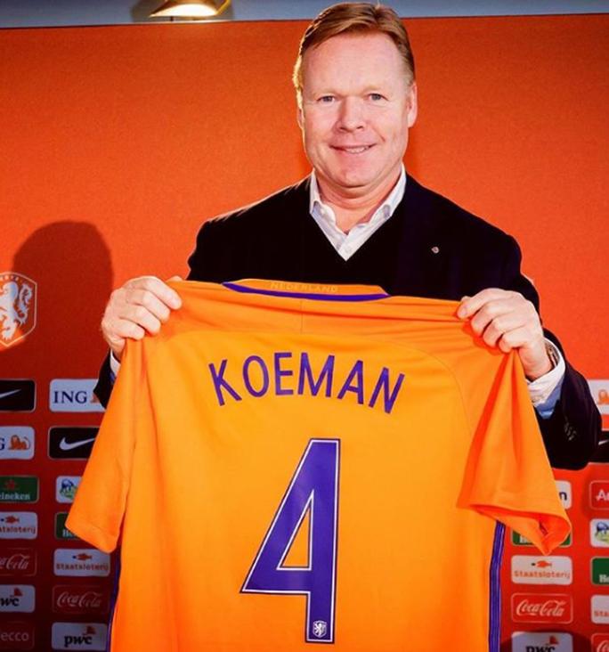 Ronald Koeman dẫn dắt tuyển Hà Lan - Ảnh 1.