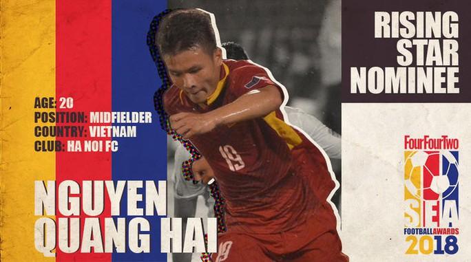 Quang Hải được đề cử Cầu thủ trẻ hay nhất Đông Nam Á - Ảnh 1.