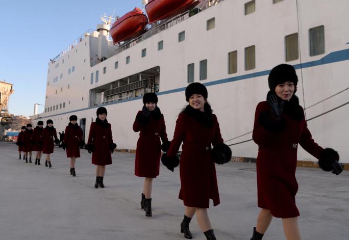 Mỹ nữ Triều Tiên đổ bộ Hàn Quốc - Ảnh 11.