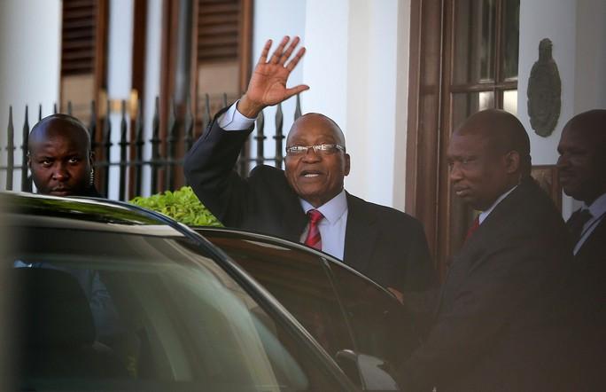 Đấu đá quyền lực ở Nam Phi - Ảnh 1.