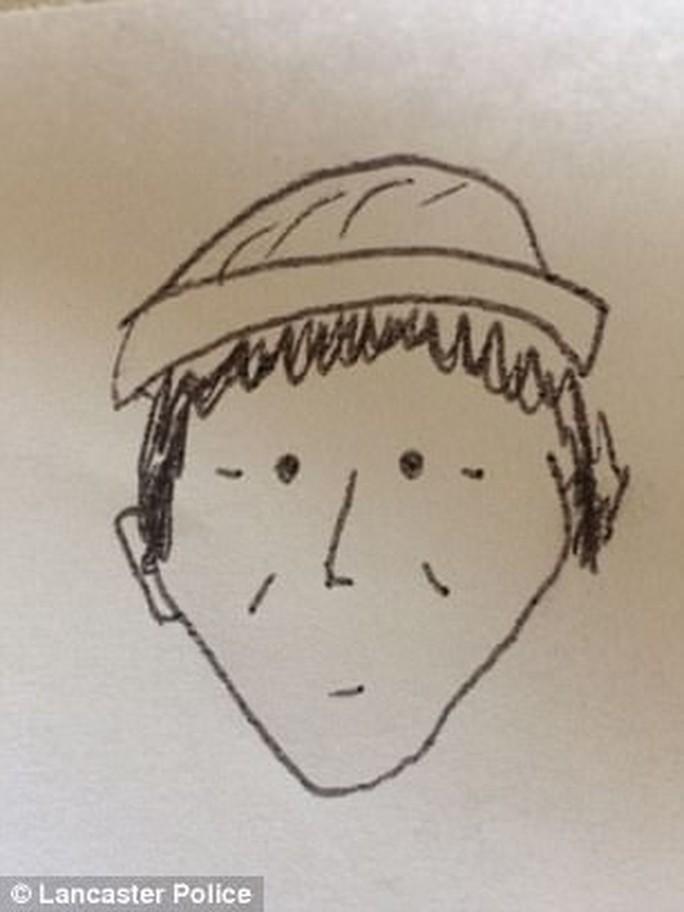 Lộ tên trộm gốc Việt ở Mỹ nhờ bức phác họa như đùa - Ảnh 1.