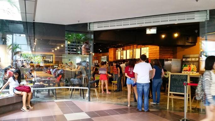 Khu ăn uống sang trọng khó tin của ĐHQG Singapore - Ảnh 2.