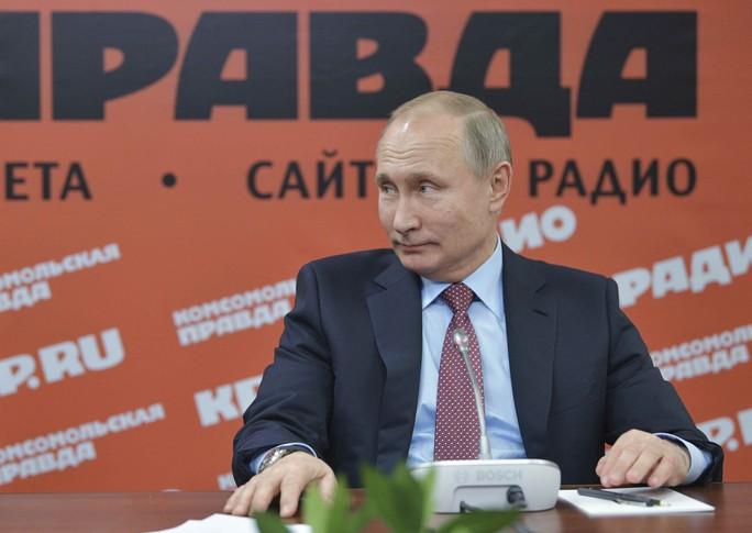Tổng thống Putin bất ngờ khen ông Kim Jong-un cao tay - Ảnh 1.