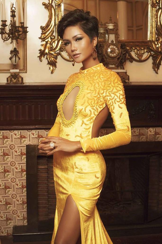 Hhen Niê đăng quang Hoa hậu Hoàn vũ Việt Nam - Ảnh 5.