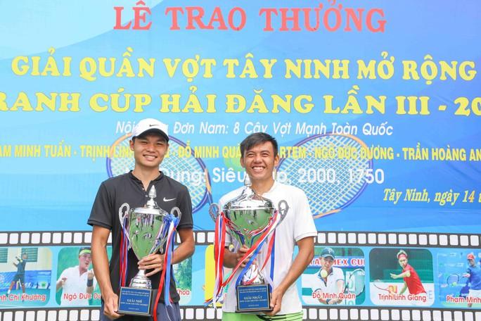 Lý Hoàng Nam vô địch Giải Quần vợt Tây Ninh mở rộng 2018 - Ảnh 3.