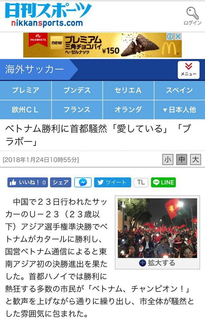 Báo Nhật bị sốc bởi U23 Việt Nam - Ảnh 4.