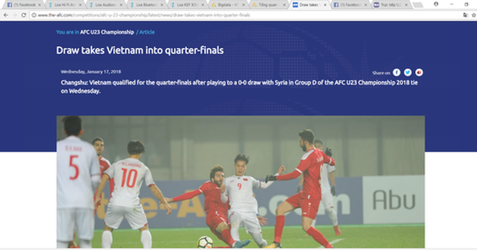 Hòa Syria 0-0, U23 Việt Nam giành vé tứ kết lịch sử - Ảnh 9.