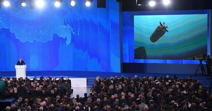 Thông điệp trước bầu cử của ông Putin - Ảnh 1.