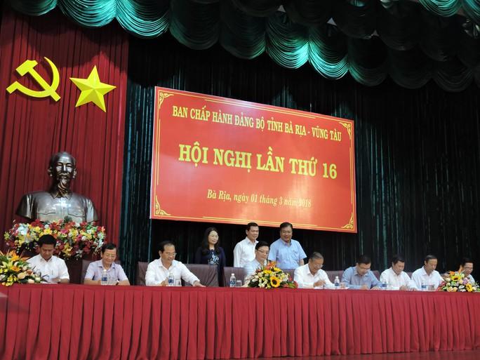 Bà Rịa-Vũng Tàu: Cam kết xử lý người đứng đầu bao che cấp dưới tham nhũng - Ảnh 1.