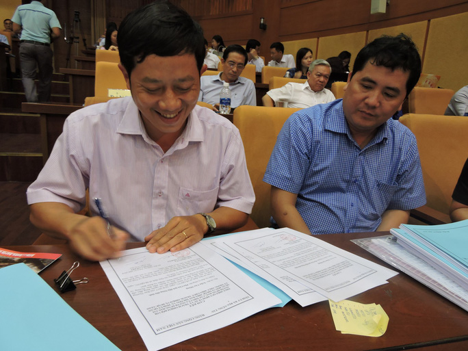 Bà Rịa-Vũng Tàu: Cam kết xử lý người đứng đầu bao che cấp dưới tham nhũng - Ảnh 2.