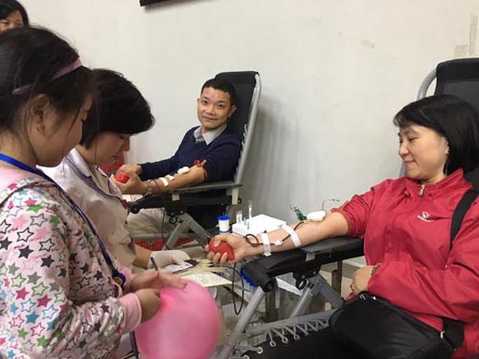 Lễ hội hiến máu lớn nhất trong năm - Ảnh 1.