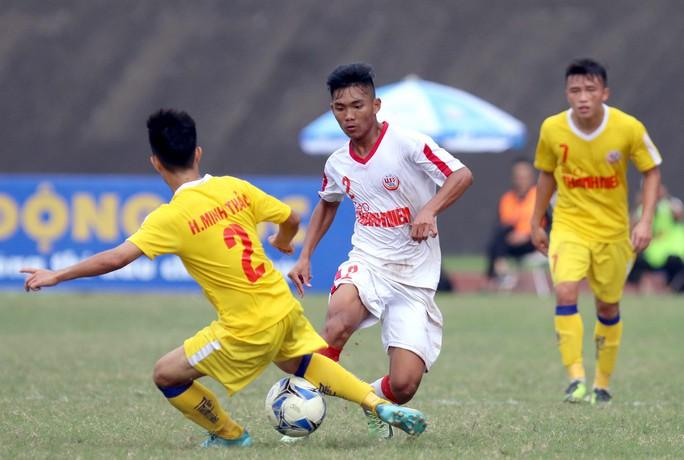 VCK U19 Quốc gia 2018: SLNA xuất sắc vượt qua HAGL, giành tấm vé cuối cùng vào bán kết - Ảnh 1.