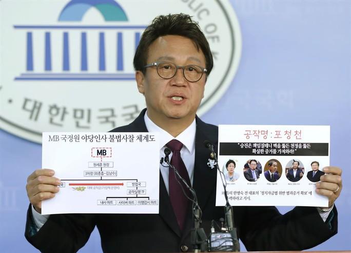 Chính khách Hàn Quốc tiêu tan sự nghiệp vì táy máy phụ nữ - Ảnh 1.