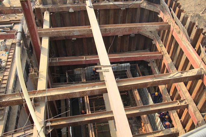 Cận cảnh hầm chui 3 tầng sắp đưa vào sử dụng ở TP HCM - Ảnh 13.