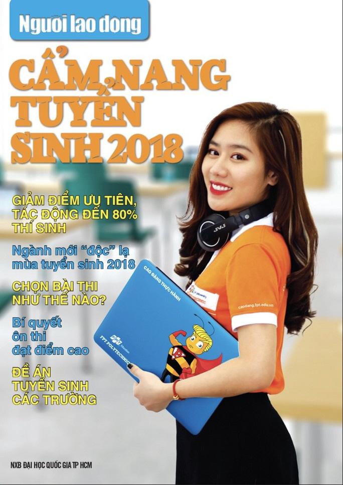 Cẩm nang Tuyển sinh 2018 của báo Người Lao Động đến tay độc giả - Ảnh 4.