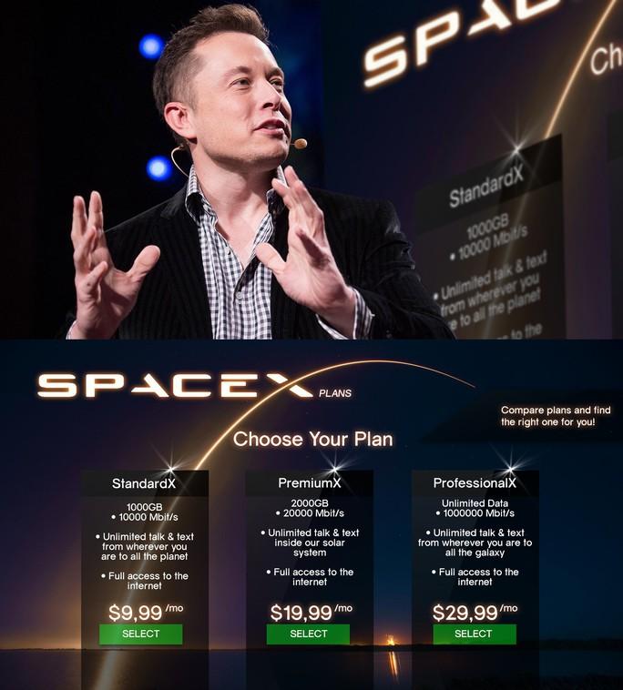 Elon Musk bán gói cước internet từ vũ trụ chỉ là… tin đồn? - Ảnh 1.