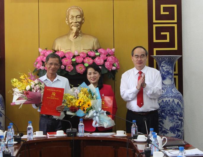 Bà Trần Kim Yến làm Bí thư Quận ủy quận 1, TP HCM - Ảnh 1.