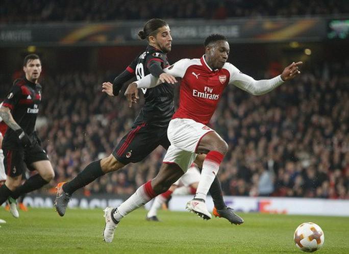 Arsenal đại phá AC Milan, Dortmund bị loại tủi hổ ở Europa League - Ảnh 2.