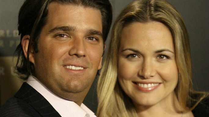 Con dâu ông Trump đệ đơn li dị - Ảnh 1.