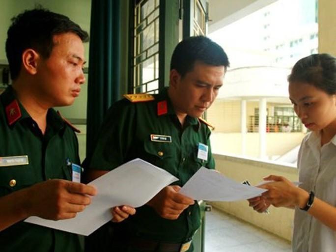 Toàn cảnh tuyển sinh vào các trường quân đội 2018 - Ảnh 1.
