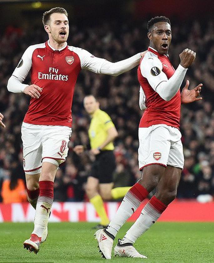 Arsenal đại phá AC Milan, Dortmund bị loại tủi hổ ở Europa League - Ảnh 4.