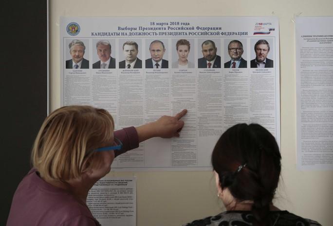Tổng thống Putin sẽ tái đắc cử? - Ảnh 1.
