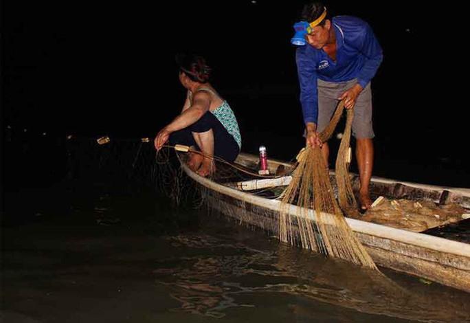 Cao điểm săn cá bông lau ở miền Tây - Ảnh 3.