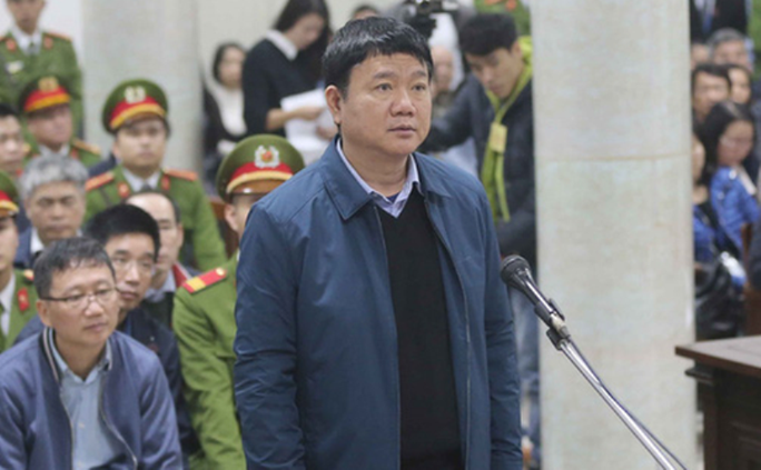Ông Đinh La Thăng liên tục nói chuyện với Ninh Văn Quỳnh - Ảnh 4.