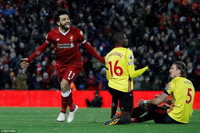 Hung thần Mo Salah giúp Liverpool thắng hủy diệt Watford - Ảnh 2.