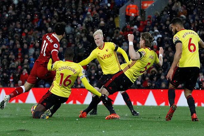 Hung thần Mo Salah giúp Liverpool thắng hủy diệt Watford - Ảnh 3.